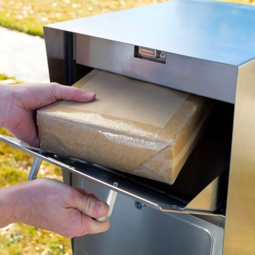 Large package delivery example